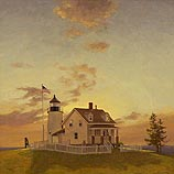 Pemaquid Lighthouse Dawning