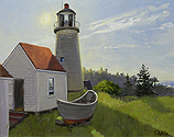 Monhegan Lighthouse, Noon Light