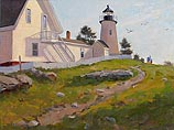 Looking Out to Sea, Pemaquid Lighthouse