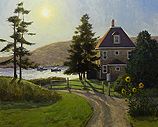Looking into the Sun, Monhegan Island