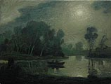 Homage to A.P. Ryder II (Midnight on the Pond)