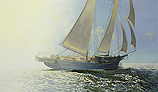 "Sun Dancing - The Schooner ""Heritage"""