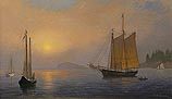 Misty Sunrise, Penobscot Bay