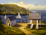 Waiting for the Ferry, Monhegan